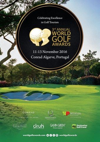 World Golf Awards 2016 Event Programme