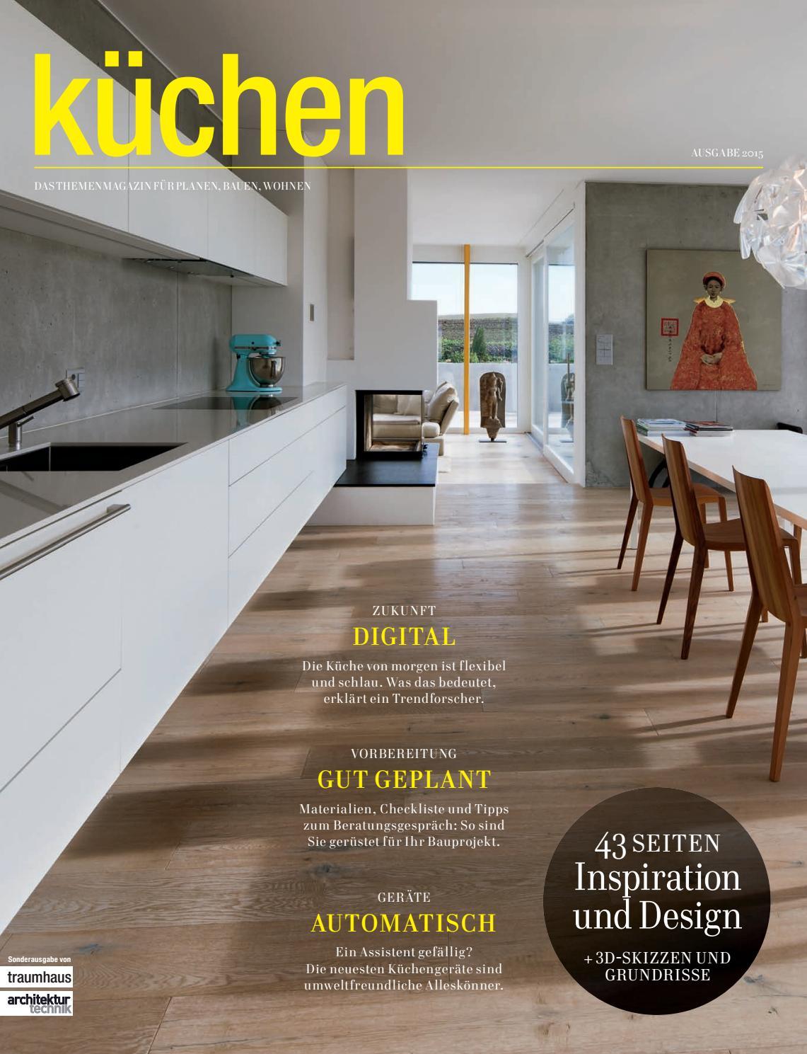 Küche architektur 2/2014 by fachschriften verlag   issuu