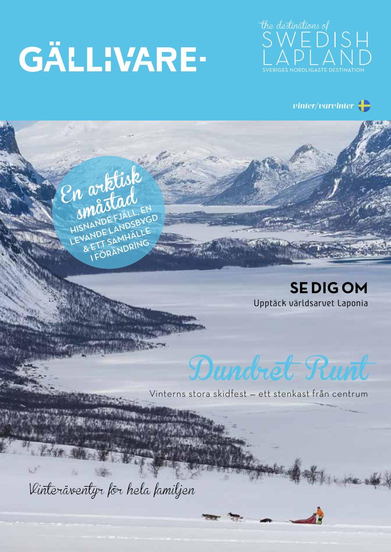 Destinations of swedish lapland gällivare vinter/vårvinter 2016 ...