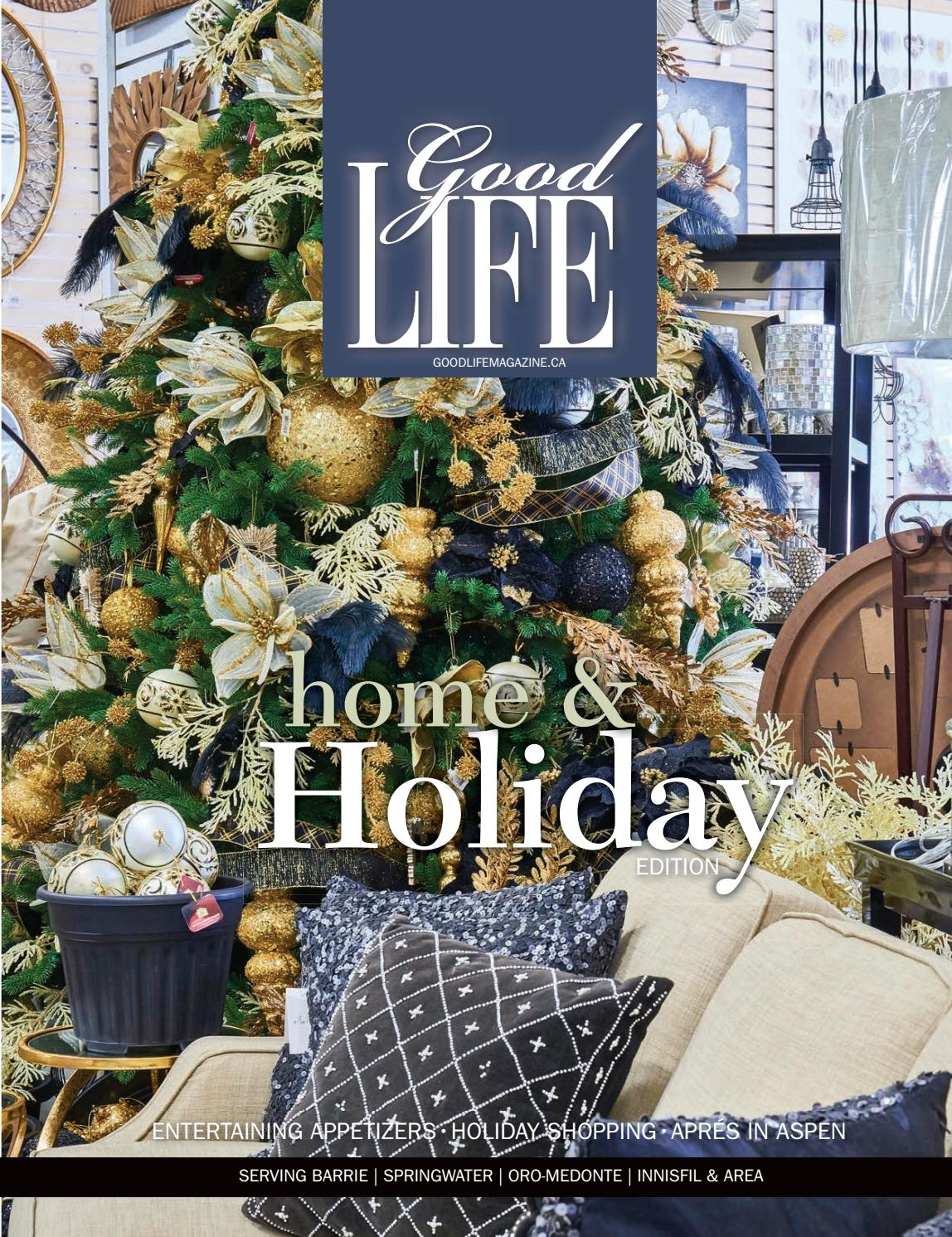 Goodlife barrie november/december   holiday edition 2016 by ...