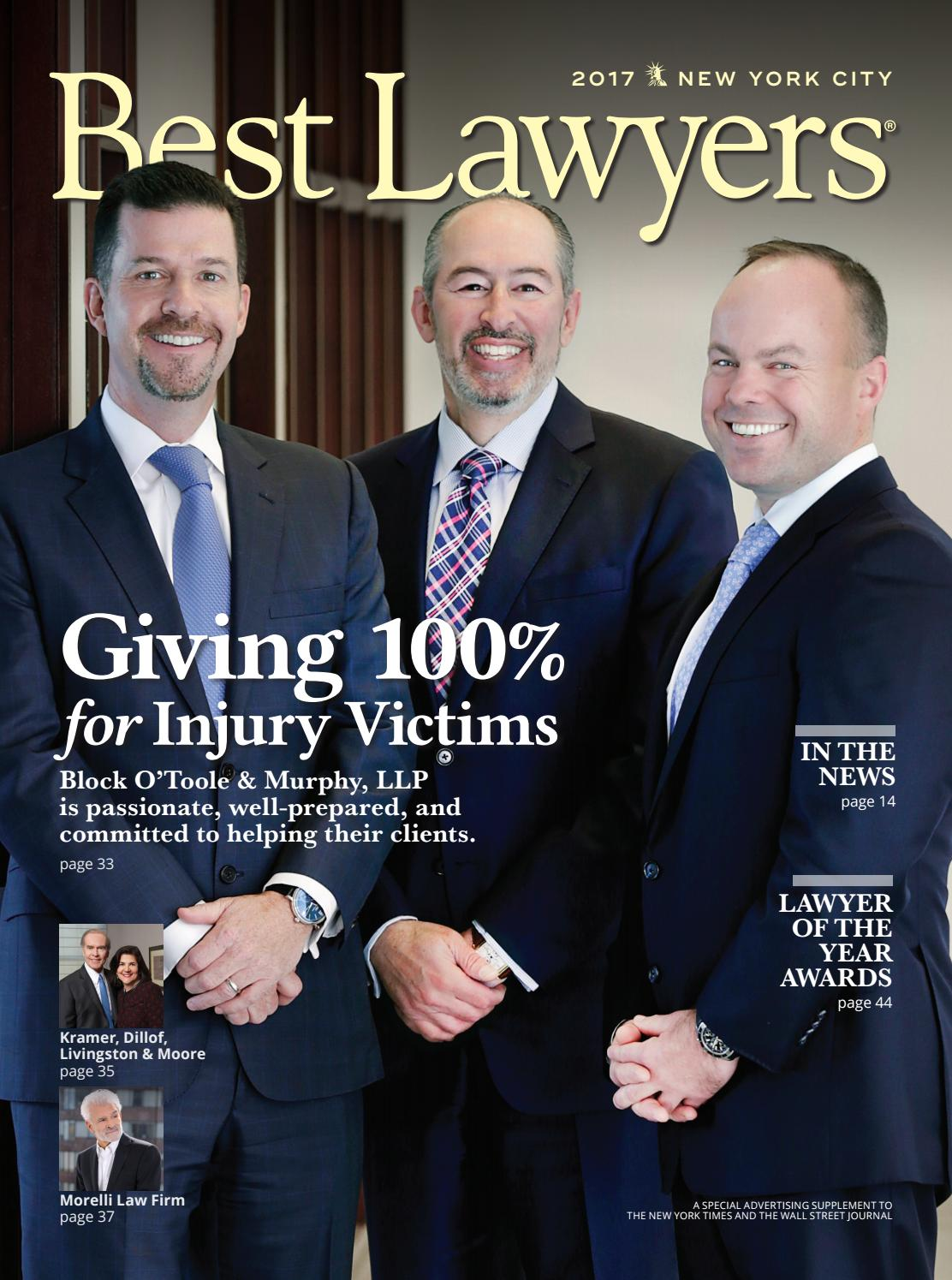 Best Lawyers In The New York Area By Best Lawyers Issuu