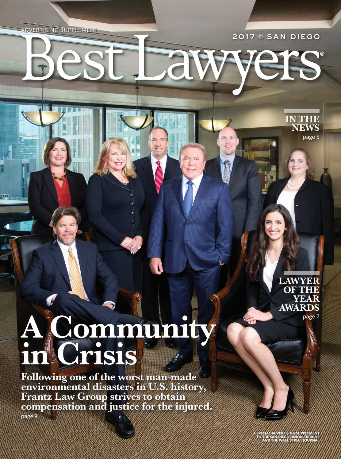Best Lawyers In San Diego 2017 By Best Lawyers Issuu