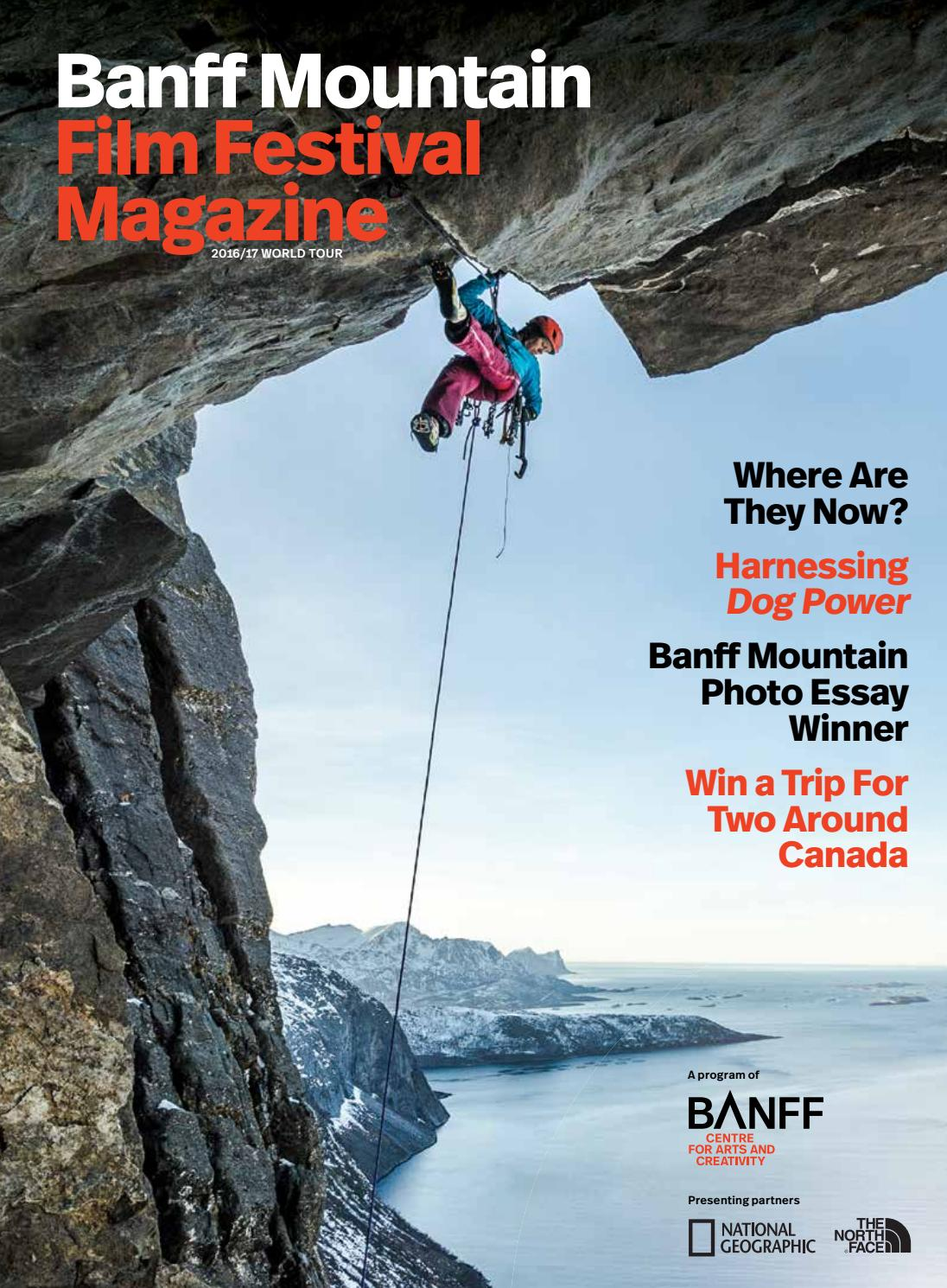 vancouver international mountain film festival by nsn features  banff mountain film festival magazine 2016