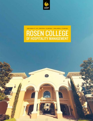 Rosen College of Hospitality Management Viewbook