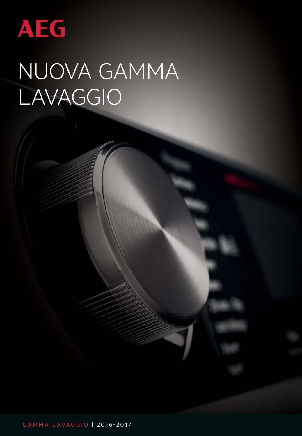 Aeg nuova gamma lavaggio by PEGOIANI EXPERT - issuu