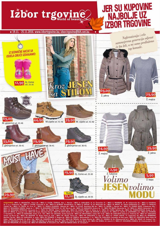 Prelistajte novi nedeljni katalog i iskoristite novu super ponudu jer su kupovine najbolje uz Izbor trgovine