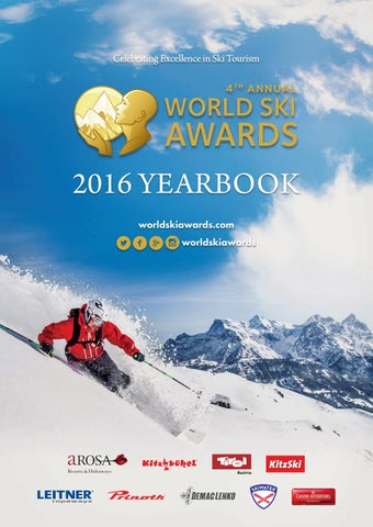 World Ski Awards 2016 Yearbook
