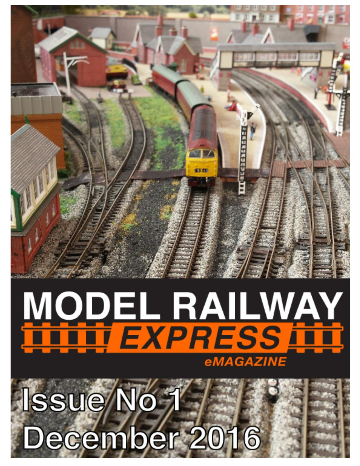 model railway express issue one december 2016 by drm