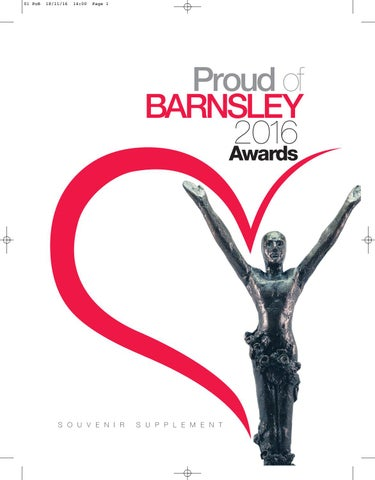 Front Cover Image for Proud Of Barnsley | November 25th 2016