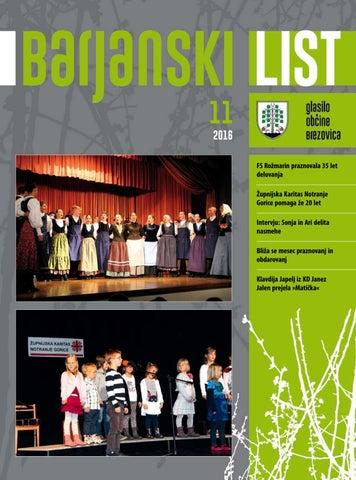 Barjanski list november 2016