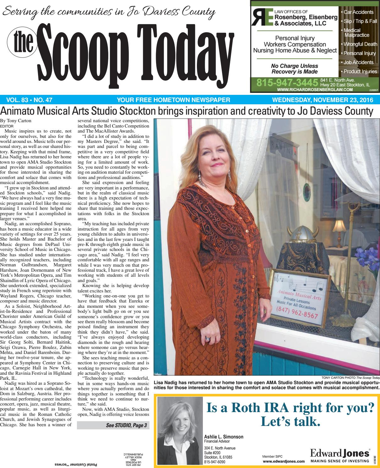 st by southern lakes newspapers rock valley publishing st 11 23 16 by southern lakes newspapers rock valley publishing issuu
