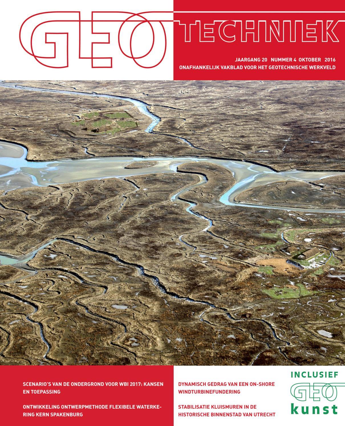 Geotechniek oktober 2015 by uitgeverij educom   issuu