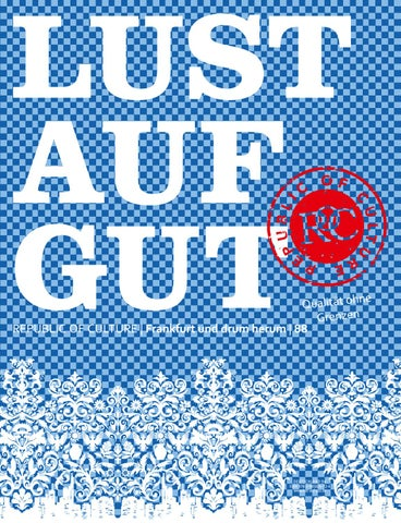 LUST AUF GUT Magazin | Frankfurt Nr. 88