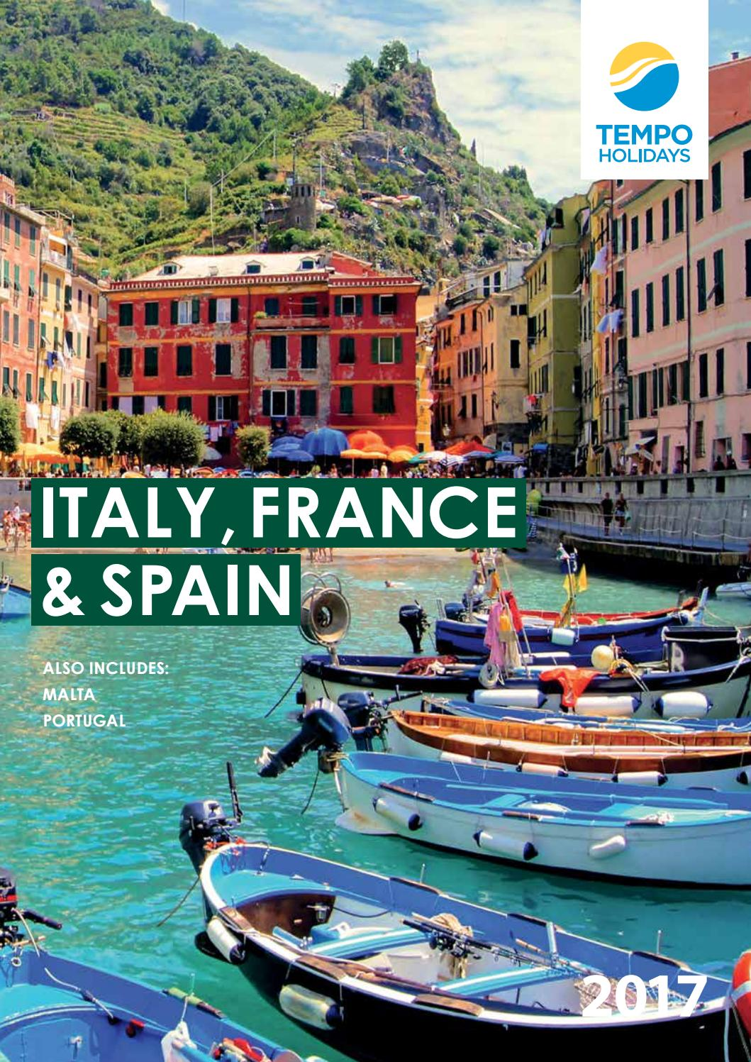 ▼Tempo Holidays - Italy, France & Spain by MuhammadOsamaOh - issuu