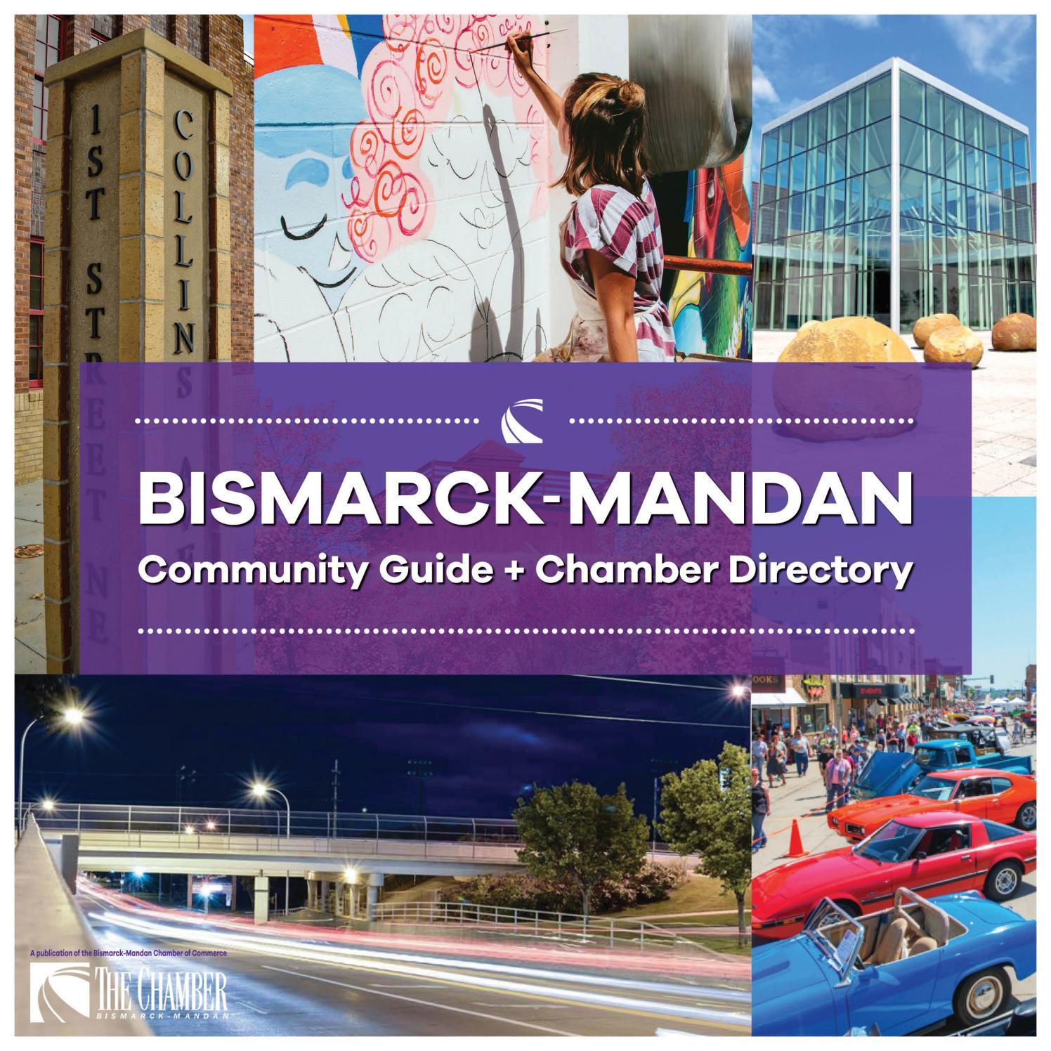 bismarck mandan community guide chamber directory by 2017 bismarck mandan community guide chamber directory by bismanchamber issuu