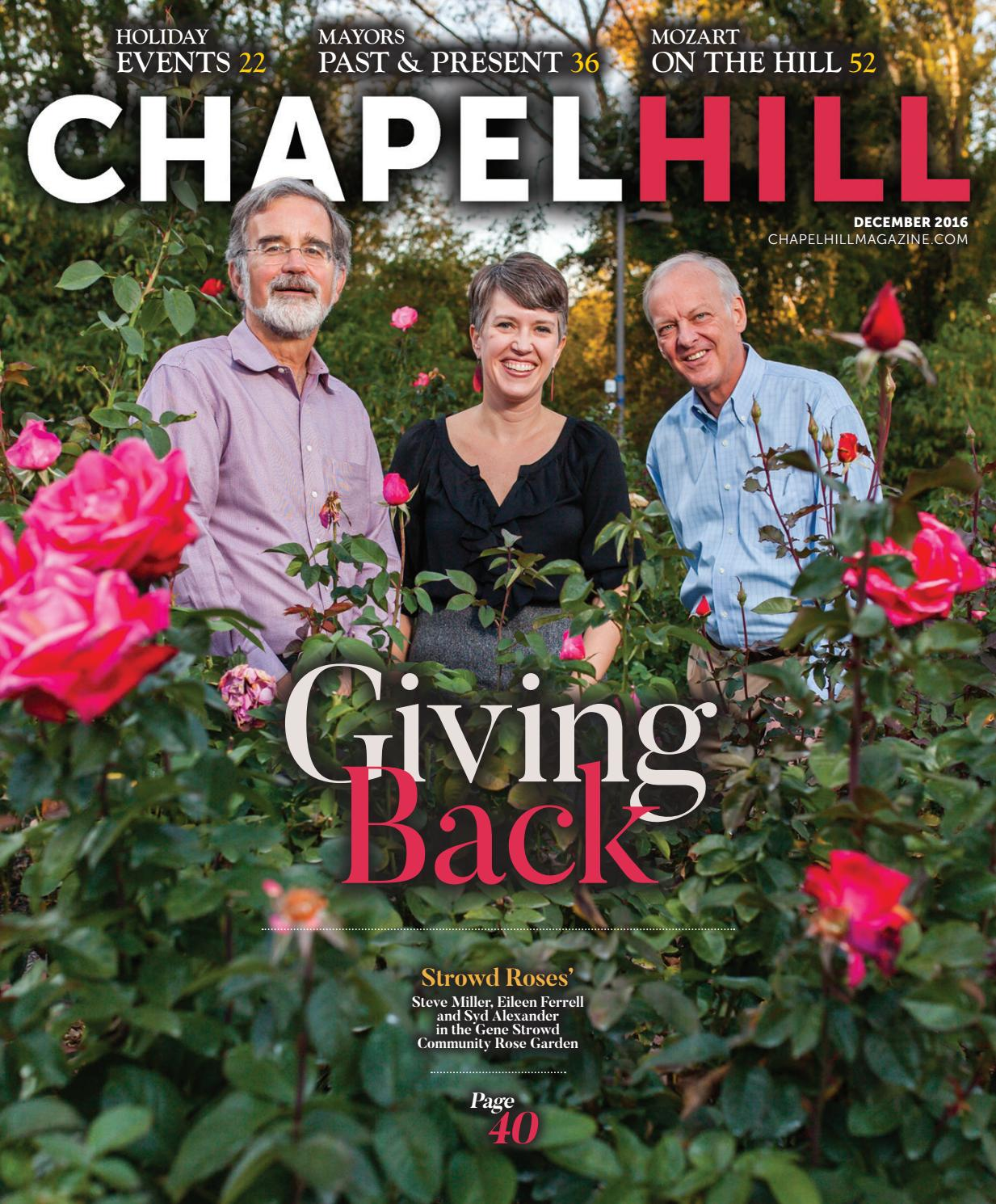 chapel hill magazine sept oct by shannon media issuu