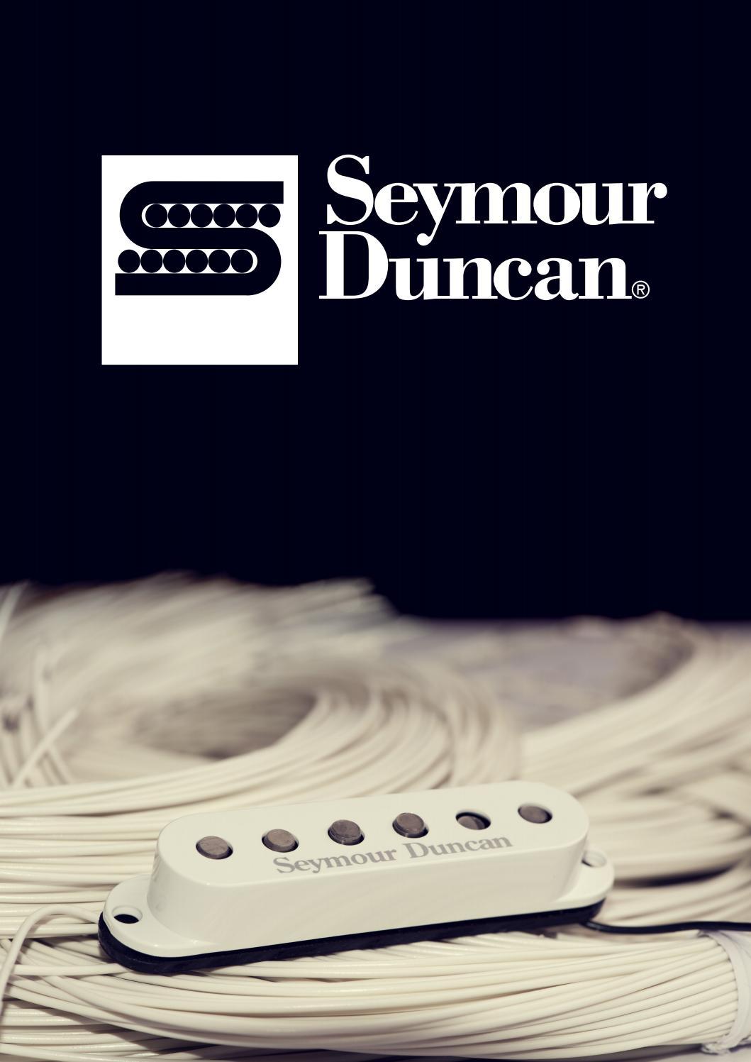 Seymour Duncan 2016 Uk Brochure By Rosetti Ltd Issuu