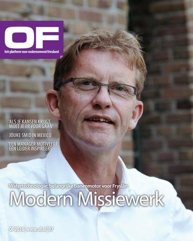Ondernemend Friesland editie 7 november 2016