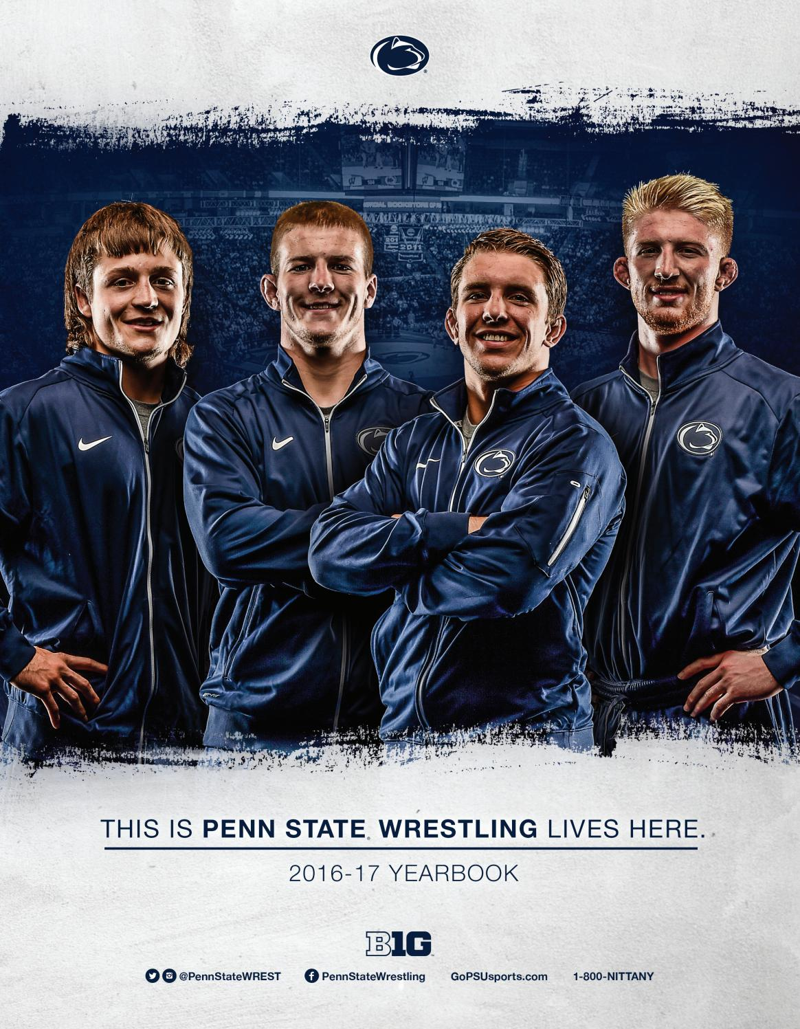 penn state wrestling 2015 16 yearbook by penn state athletics issuu