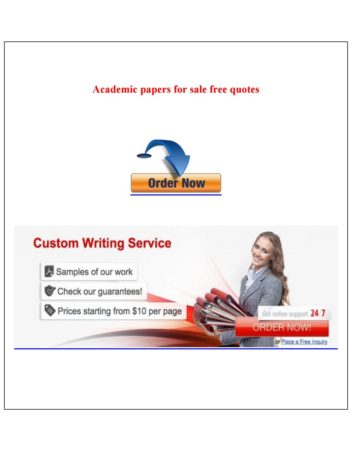 custom academic writing services