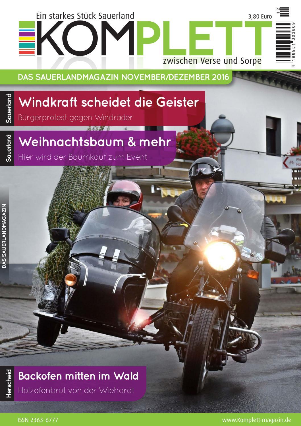 Komplett Das Sauerlandmagazin - die komplette Ausgabe Januar ...