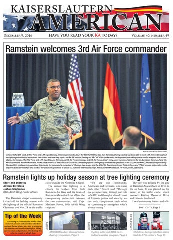 Kaiserslautern American, December 9, 2016