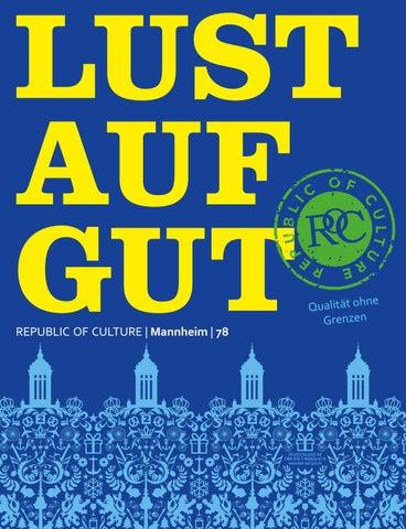 LUST AUF GUT Magazin | Mannheim Nr. 78