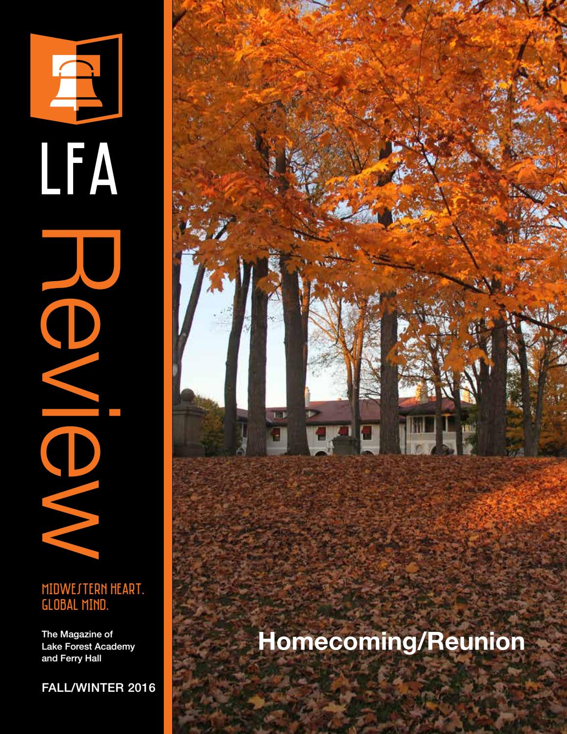 lfa review fall by lake forest academy issuu