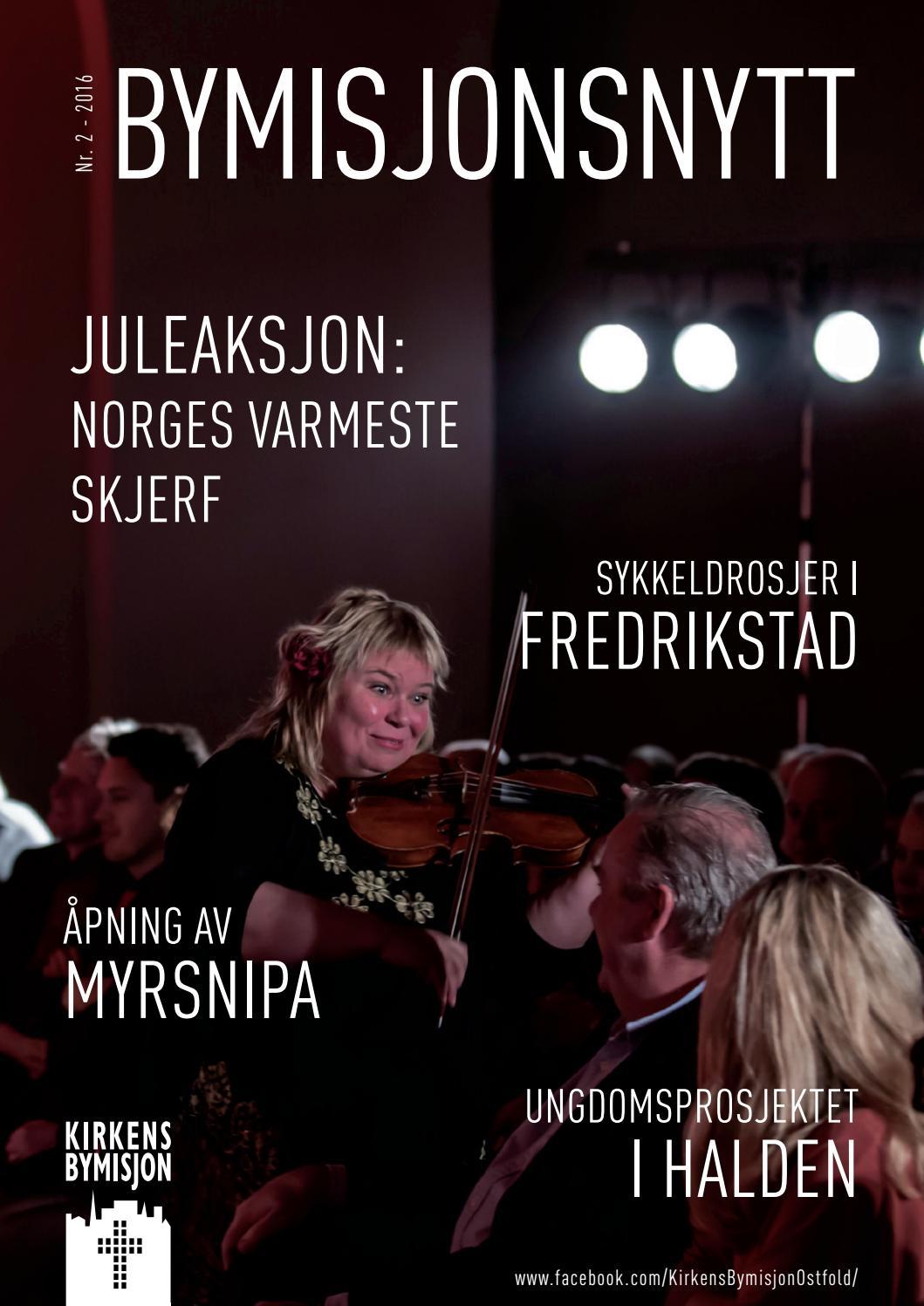 Bymisjonsnytt, julen 2016 by Kirkens Bymisjon - issuu