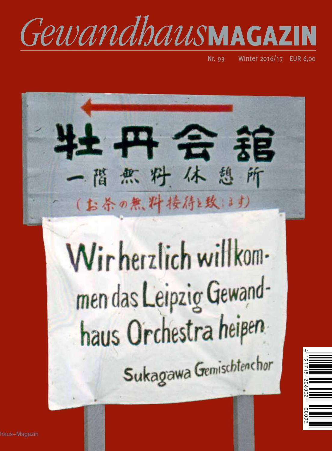 Gewandhaus magazin nr 93 by gewandhausorchester issuu