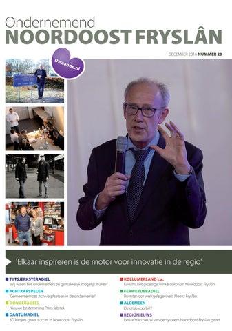 Ondernemend Noordoost Fryslân december 2016