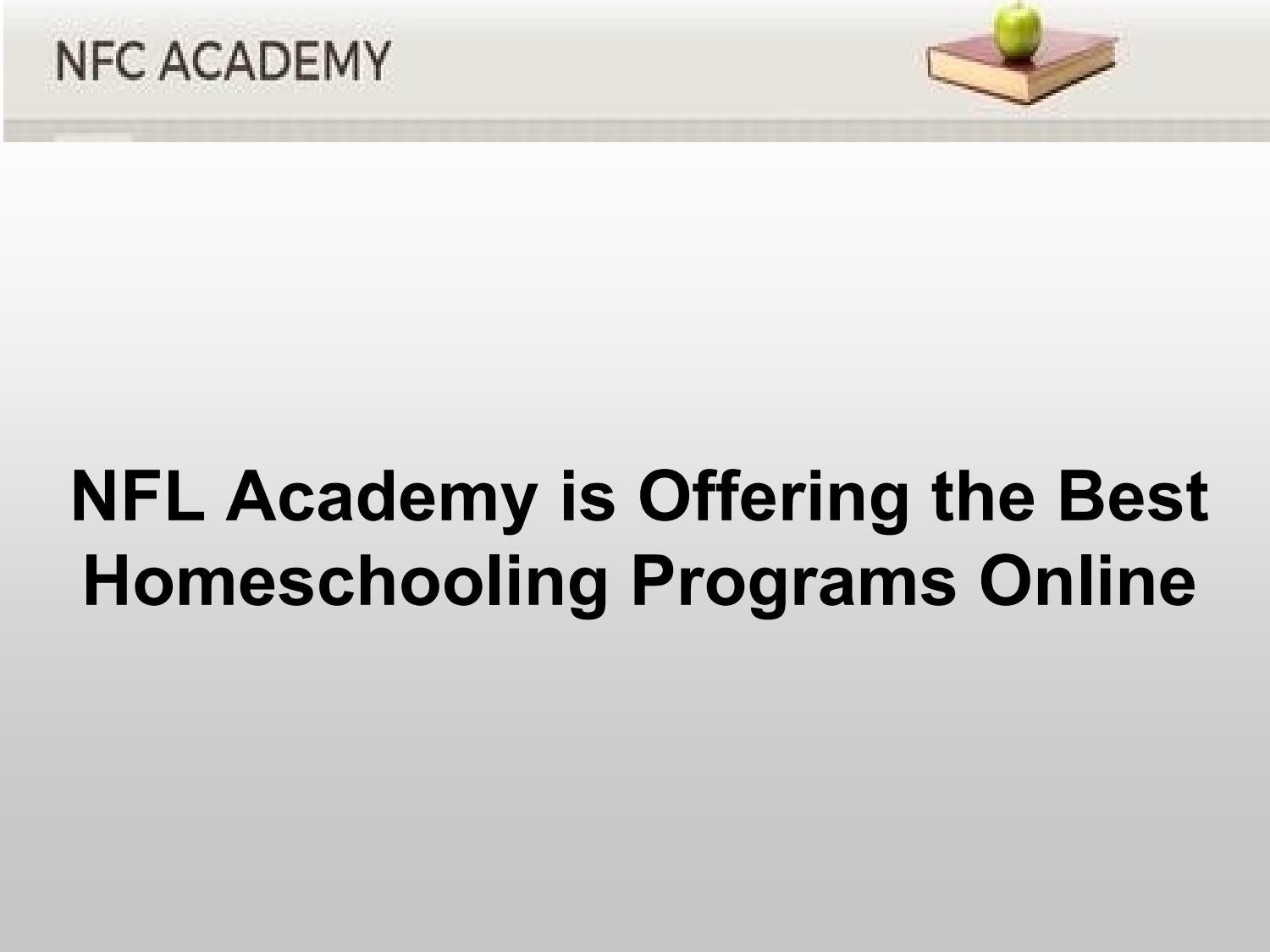 Worksheet Best Homeschool Online Programs nfl academy is offering the best homeschooling programs online by nflcacademy issuu