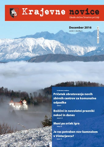 Krajevne novice december 2016 (letnik 1, številka 7)