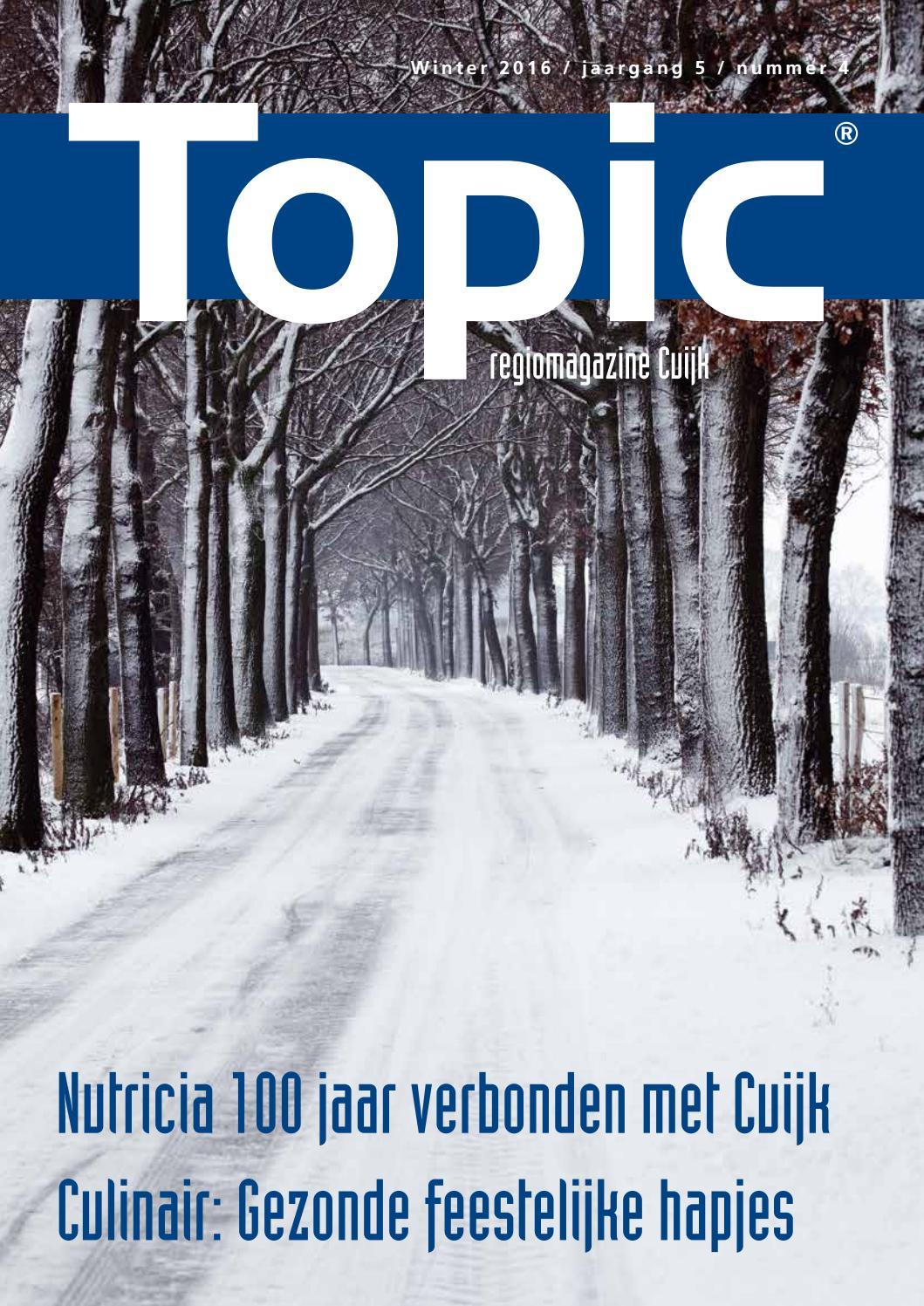 Topic cuijk winter 2016 by Remi van Bergen - issuu