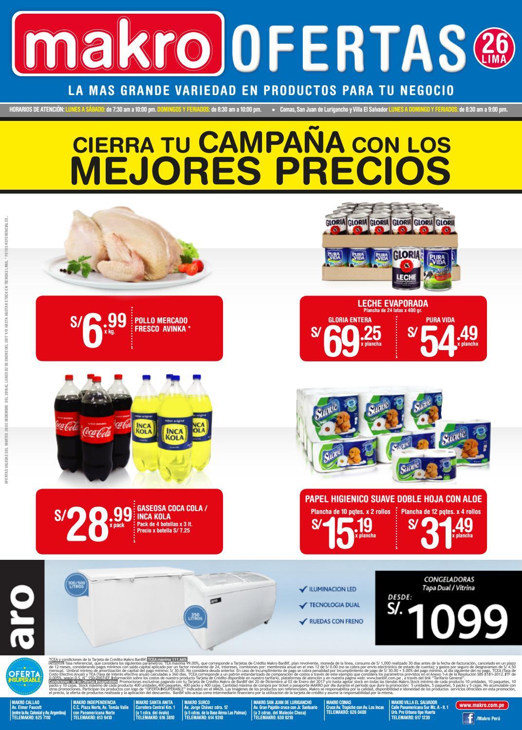 Encarte makro lima 26 by makro peru makro issuu for Makro asturias catalogo