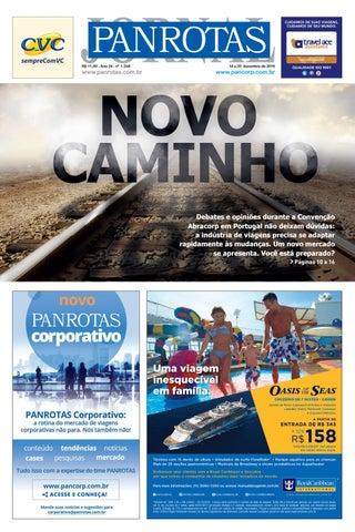 Segunda imagem da lista de edições - Jornal PANROTAS 1248