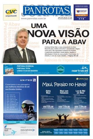 Terceira imagem da lista de edições - Jornal PANROTAS 1197
