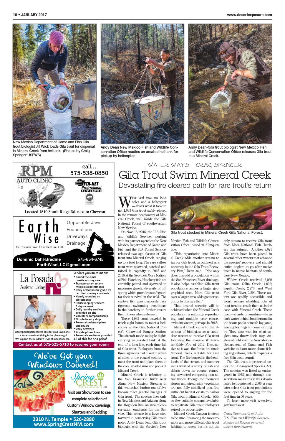 Desert exposure january 2017 by opc news llc page 10 for New mexico game and fish login