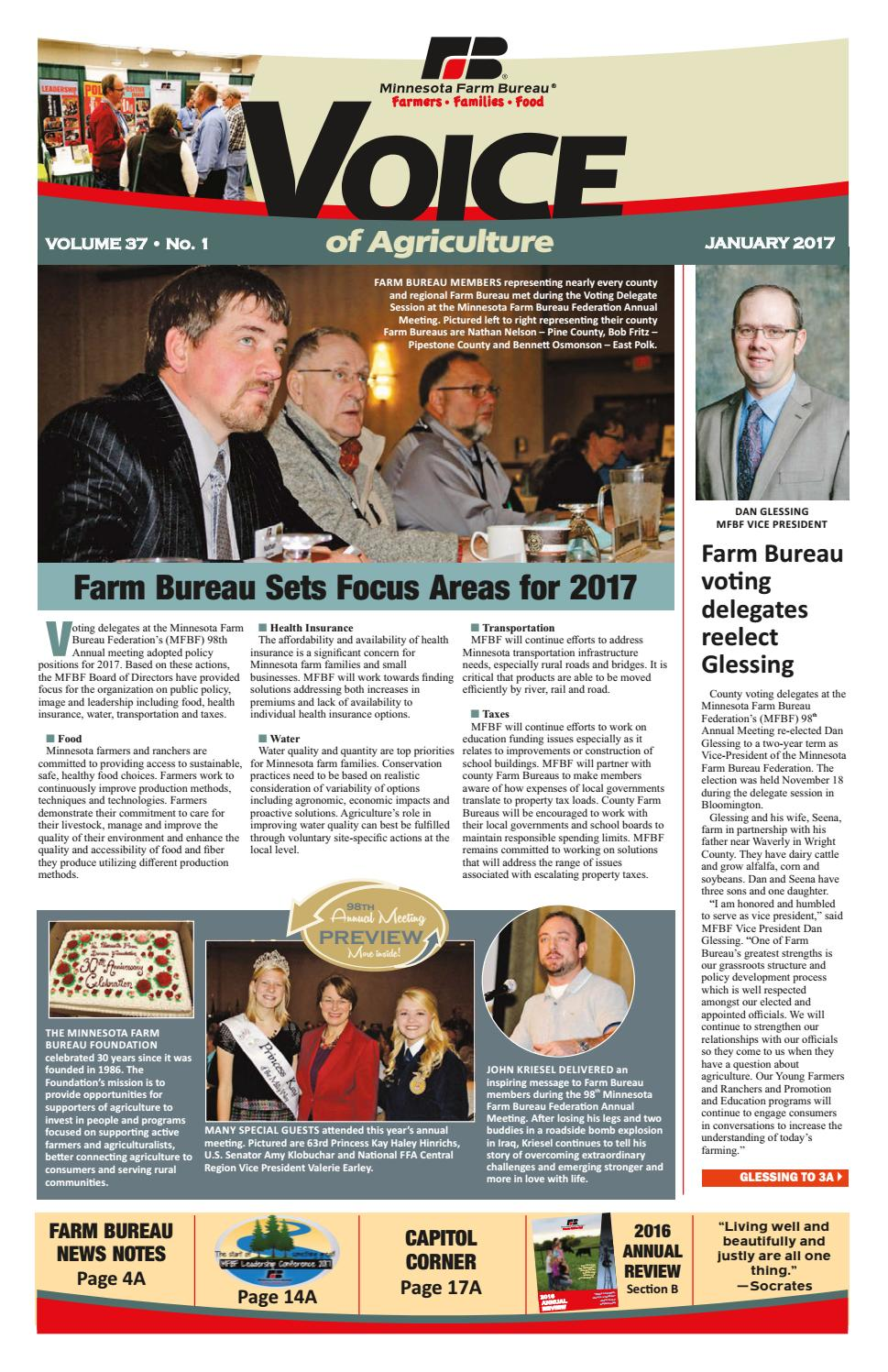 voice of agriculture by minnesota farm bureau issuu