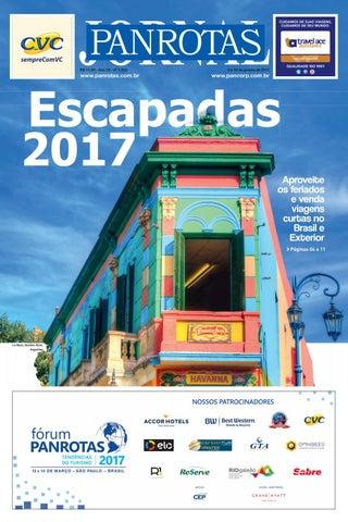 Quinta capa - Jornal PANROTAS 1250
