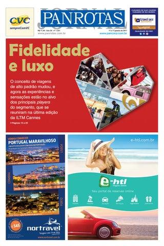 Primeira capa - Jornal PANROTAS 1251