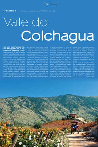 Segunda capa - Vale do Colchagua