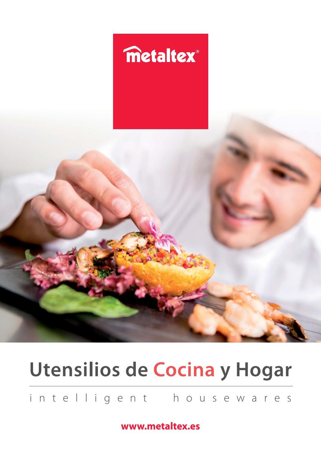 Cat logo metaltex 2017 utensilios cocina y hogar by metaltex issuu - Cocina hogar chiclana catalogo ...