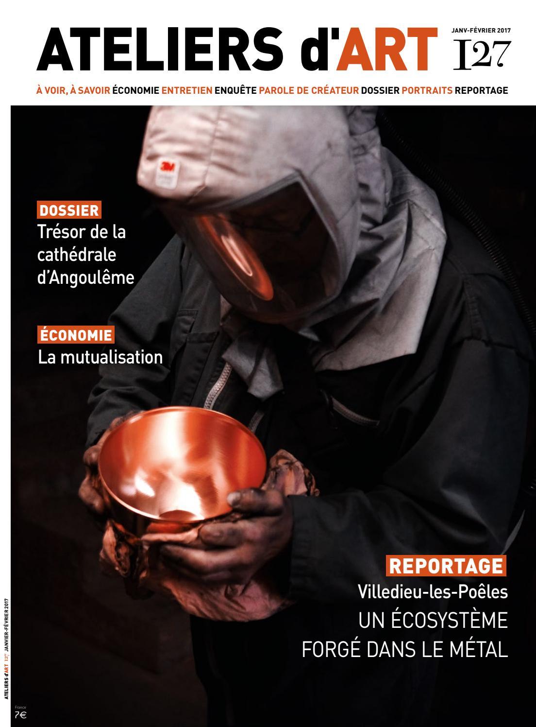 Extrait issuu 127 by ateliers d 39 art de france issuu - Ateliers d arts de france ...