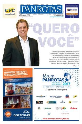 Terceira capa - Jornal PANROTAS 1252