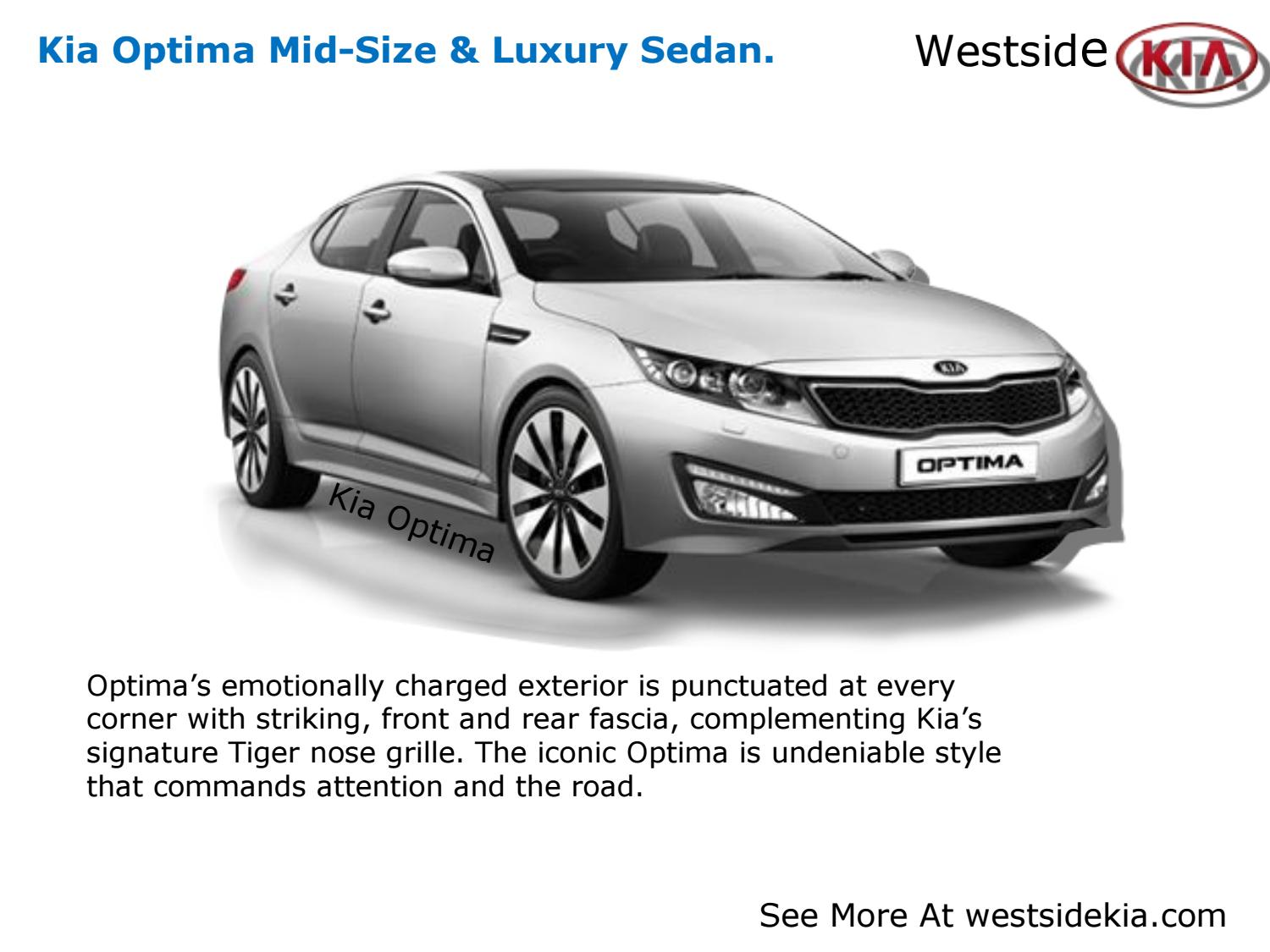 Kia Optima Review By Houston Tx By Brooks Bru Issuu