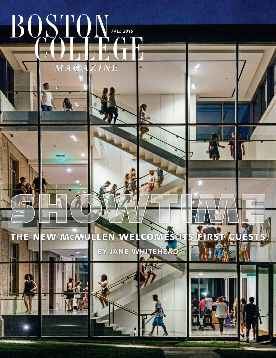 boston college magazine by boston college issuu bcm fall 2016