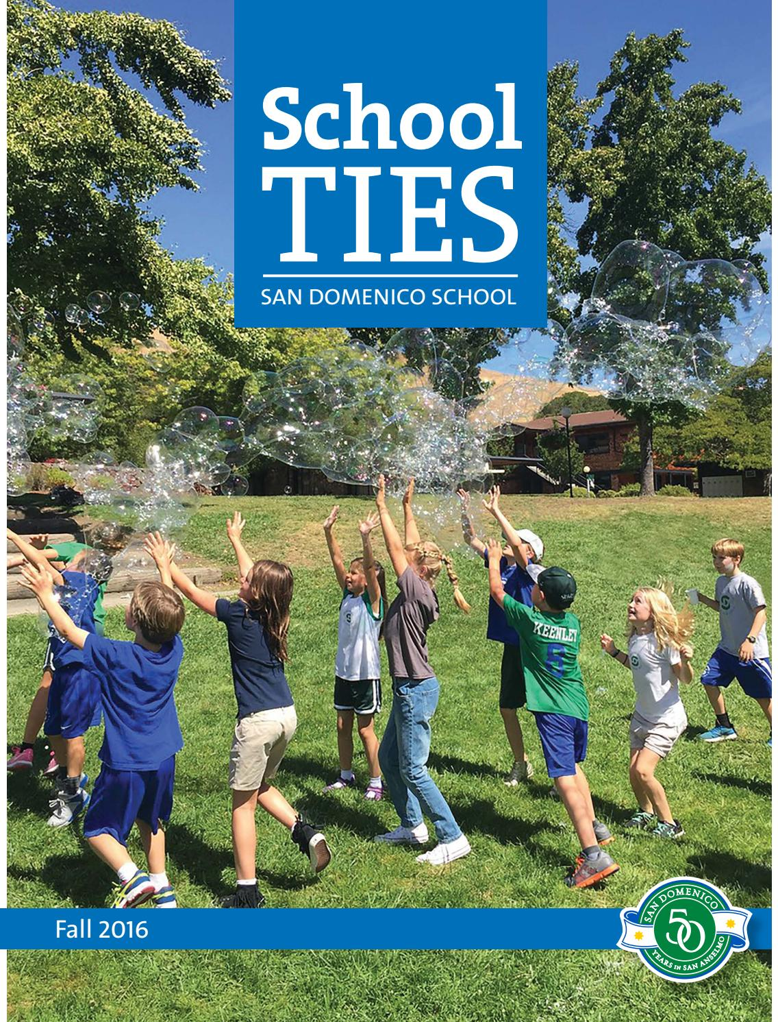 school ties spring 2016 by san domenico school