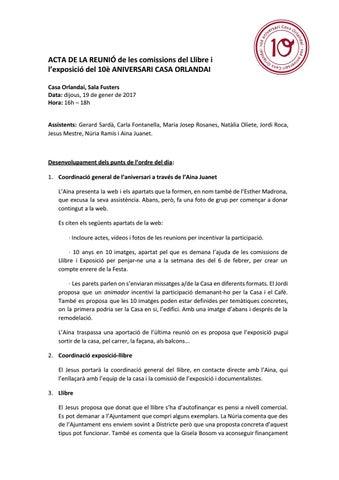 19-01-2017 - Acta comissió llibre/exposició