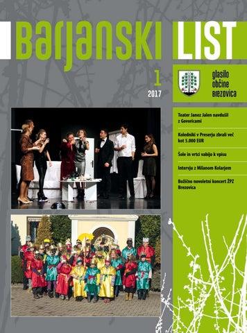 Barjanski list januar 2017